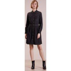Sukienki hiszpanki: 7 for all mankind Sukienka jeansowa black