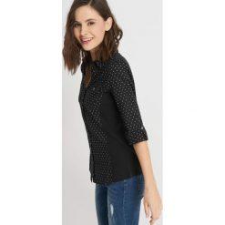 Koszule jeansowe damskie: Bawełniana koszula ze wzorem