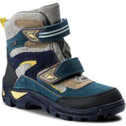Buty zimowe chłopięce: Śniegowce BARTEK – 27673/532 Szaro Turkusowy