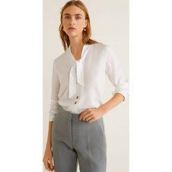 Mango - Koszula Jane. Szare koszule damskie marki Mango, l, z lyocellu, z długim rękawem. Za 139,90 zł.