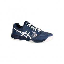 Buty tenisowe Asics Gel Dedicate. Czarne buty do tenisu damskie marki Asics. W wyprzedaży za 149,99 zł.