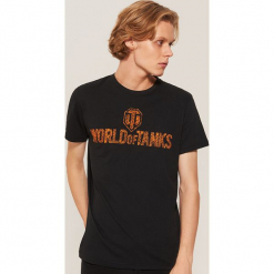 T-shirt world of tanks - Czarny. Czarne t-shirty męskie marki House, l. Za 49,99 zł.