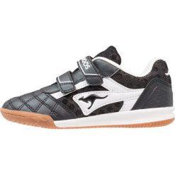KangaROOS POWER COMB  Tenisówki i Trampki jet black/white. Czarne tenisówki męskie KangaROOS, z gumy. Za 129,00 zł.