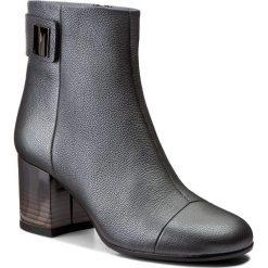 Botki BALDOWSKI - W00186-1453-006 Groszek Grafit. Szare buty zimowe damskie Baldowski, ze skóry. W wyprzedaży za 329,00 zł.
