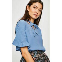 Medicine - Bluzka Vintage Revival. Szare bluzki z odkrytymi ramionami MEDICINE, l, z tkaniny, casualowe, z krótkim rękawem. Za 59,90 zł.