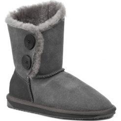 Buty EMU AUSTRALIA - Valery Lo W10541 Charcoal. Szare buty zimowe damskie EMU Australia, z gumy. W wyprzedaży za 489,00 zł.