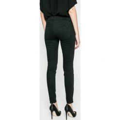 Answear - Jeansy Blossom Mood. Czarne jeansy damskie rurki marki ANSWEAR. W wyprzedaży za 99,90 zł.