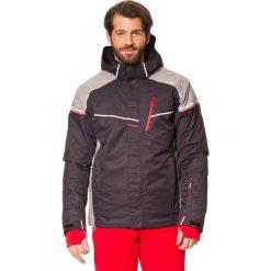 Kurtki męskie: Kurtka narciarska w kolorze ciemnoszarym