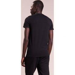 Emporio Armani LOGO Tshirt z nadrukiem nero. Szare koszulki polo marki Emporio Armani, l, z bawełny, z kapturem. Za 339,00 zł.