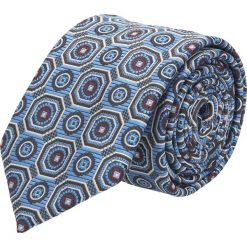 Krawat platinum niebieski classic 238. Niebieskie krawaty męskie Recman. Za 49,00 zł.