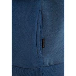 Quiksilver THAZI ZIP Bluza rozpinana dark denim. Szare bluzy chłopięce rozpinane marki Quiksilver, krótkie. W wyprzedaży za 135,20 zł.