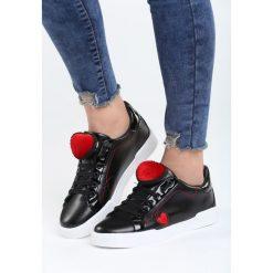 Czarne Buty Sportowe Strange Love. Pomarańczowe buty sportowe damskie marki Born2be, z materiału. Za 89,99 zł.