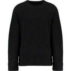 Kardigany męskie: AllSaints LOFTEN CREW Sweter black