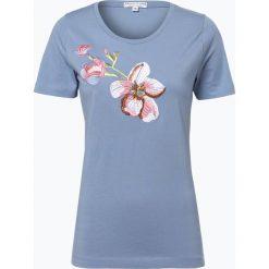 Marie Lund - T-shirt damski, niebieski. Niebieskie t-shirty damskie Marie Lund, s, z haftami. Za 69,95 zł.