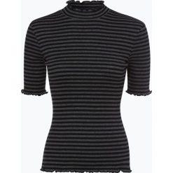 Opus - T-shirt damski – Sereni stripe, szary. Szare t-shirty damskie Opus, z dżerseju. Za 159,95 zł.