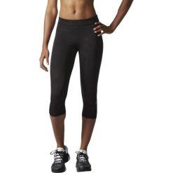 Adidas Legginsy Techfit Capri  Triax Sport Camo Emboss czarne M (AI2957). Czarne legginsy sportowe damskie marki Adidas, l, z bawełny. Za 118,08 zł.