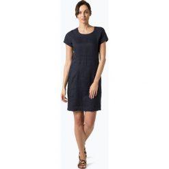 Sukienki: Part Two – Lniana sukienka damska – Aundreas, niebieski