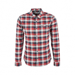 S.Oliver Koszula Męska Xl Czerwony. Szare koszule męskie marki S.Oliver, l, z bawełny, z włoskim kołnierzykiem, z długim rękawem. Za 159,00 zł.