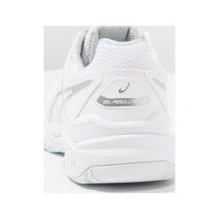 ASICS GELRESOLUTION 7 Obuwie multicourt white/silver. Białe buty do tenisu damskie Asics. Za 589,00 zł.
