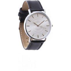Czarno-Biały Zegarek Commonplace. Białe zegarki damskie Born2be. Za 29,99 zł.