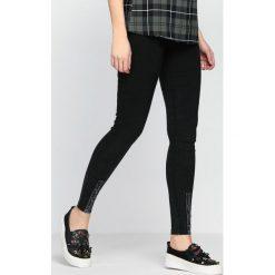 Spodnie damskie: Czarne Jegginsy About You