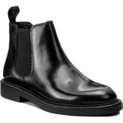Sztyblety VAGABOND - Alex W 4448-104-20 Black. Czarne buty zimowe damskie marki Vagabond, z materiału, na obcasie. W wyprzedaży za 309,00 zł.