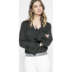 Vero Moda - Bluzka. Szare bluzki z odkrytymi ramionami Vero Moda, l, z materiału, casualowe. W wyprzedaży za 69,90 zł.