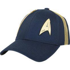 Czapki damskie: Star Trek Discovery - Metal Logo Czapka baseballowa granatowy