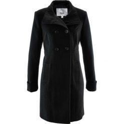 Płaszcz bonprix czarny. Czarne płaszcze damskie bonprix. Za 189,99 zł.