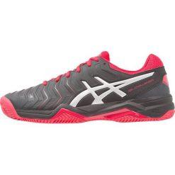 ASICS GELCHALLENGER 11 CLAY Obuwie do tenisa Outdoor black/silver. Czarne buty do tenisa męskie marki Asics. Za 419,00 zł.
