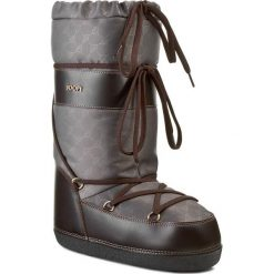 Śniegowce JOOP! - Althaia 4140002332 Grey 800. Brązowe buty zimowe damskie JOOP!, z materiału. W wyprzedaży za 519,00 zł.