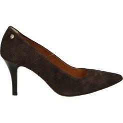 Czółenka - 2647 CAM BR92. Brązowe buty ślubne damskie Venezia, ze skóry. Za 159,00 zł.