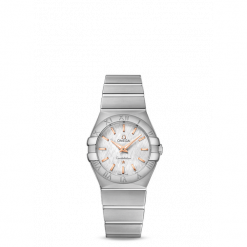 ZEGAREK OMEGA CONSTELLATION 123.10.27.60.02.004. Czarne zegarki damskie marki KALENJI, ze stali. Za 9500,00 zł.