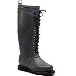 Kalosze ILSE JACOBSEN - RUB1 Grey 06. Brązowe buty zimowe damskie marki Alma en Pena, z materiału, na obcasie. Za 649,00 zł.