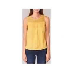 Bluzki Casual Attitude  HIZETTE. Żółte bluzki damskie marki Casual Attitude, m, casualowe. Za 87,20 zł.