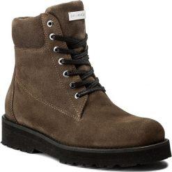 Trapery EVA MINGE - Piedad 2L 17BD1372201EF 803. Brązowe buty zimowe damskie Eva Minge, z materiału. W wyprzedaży za 299,00 zł.