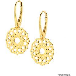 Złote Kolczyki Rozety. Żółte kolczyki damskie Pakamera, srebrne. Za 139,00 zł.