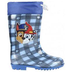 Disney Kalosze Chłopięce Psi Patrol 24 Niebieskie. Niebieskie kalosze chłopięce Disney. Za 69,00 zł.