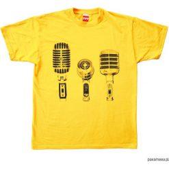 Koszulka MIKROFONY YELLOW tshirt. Czarne t-shirty męskie marki Pakamera, m, z kapturem. Za 77,00 zł.