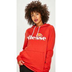 Ellesse - Bluza. Czerwone bluzy rozpinane damskie Ellesse, m, z nadrukiem, z bawełny, z kapturem. W wyprzedaży za 199,90 zł.
