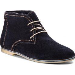 Botki TAMARIS - 1-25208-20 Navy 805. Szare buty zimowe damskie marki Tamaris, z materiału. W wyprzedaży za 159,00 zł.
