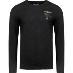 T-shirty męskie: T-shirt AERONAUTICA MILITARE Czarny