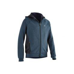 Bluza z kapturem S900. Czarne bluzy chłopięce rozpinane DOMYOS, z kapturem. Za 84,99 zł.