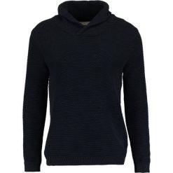 Swetry klasyczne męskie: Selected Homme Sweter navy