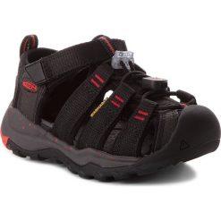Sandały KEEN - Newport Neo H2 1018429 Black/Firey Red. Czarne sandały chłopięce Keen, z materiału. W wyprzedaży za 199,00 zł.