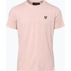 Lyle & Scott - T-shirt męski, różowy. Fioletowe t-shirty męskie marki KIPSTA, m, z elastanu, z długim rękawem, na fitness i siłownię. Za 129,95 zł.