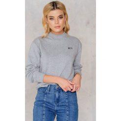 Bluzy rozpinane damskie: NA-KD Trend Bluza 80's - Grey