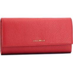 Duży Portfel Damski COCCINELLE - CW5 Metallic Soft E2 CW5 11 03 01 Coquelicot R09. Czerwone portfele damskie Coccinelle, ze skóry. Za 599,90 zł.