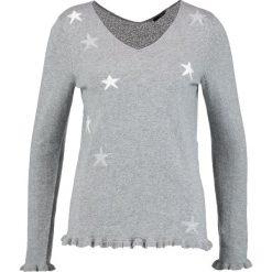 Swetry klasyczne damskie: comma Sweter grey