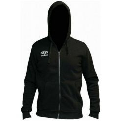 Bluzy męskie: Umbro Bluza Hooded Full Zip Black L